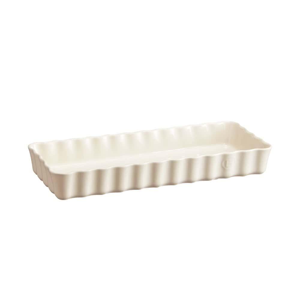 Форма для пирога прям. 15х36 см./крем Emile Henry