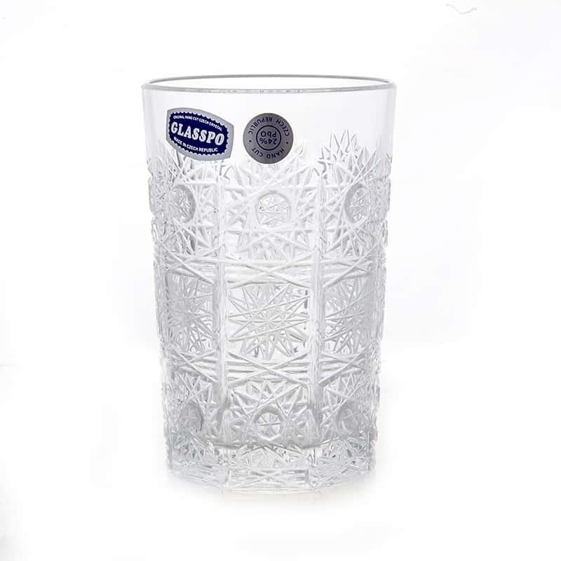Набор стаканов 200мл.6шт. Хрусталь 20260 Glasspo