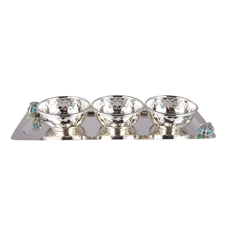 Набор для соуса 4пред 14х35см. Декоративный камень Select 60465