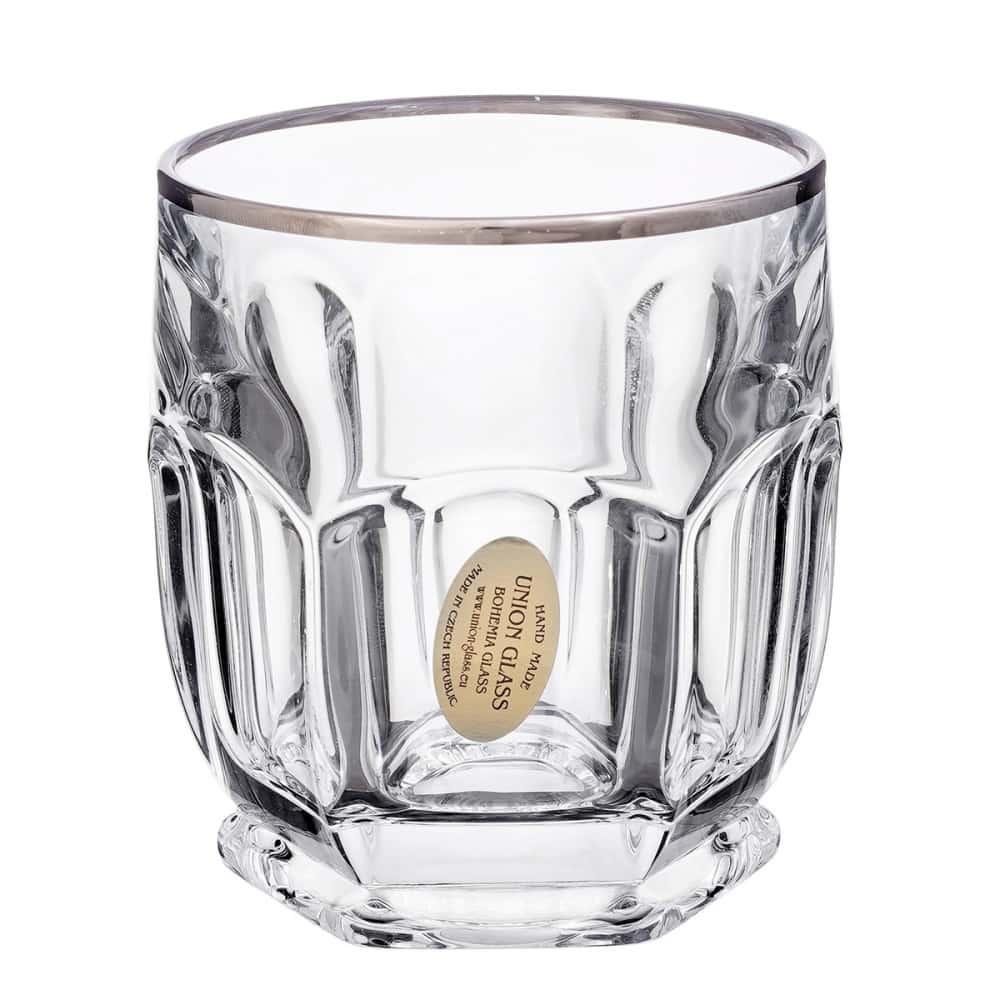 Набор стаканов 250мл.6шт.Сафари Elegance плат. Union Glass