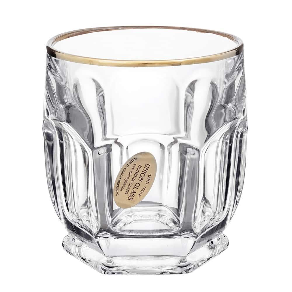 Набор стаканов 250мл.6шт.Сафари Elegance зол. Union Glass