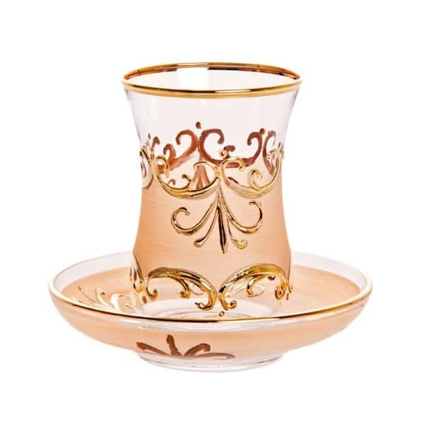 Пара для чая на 2пред Армуда-Узор 200 02 Union Glass