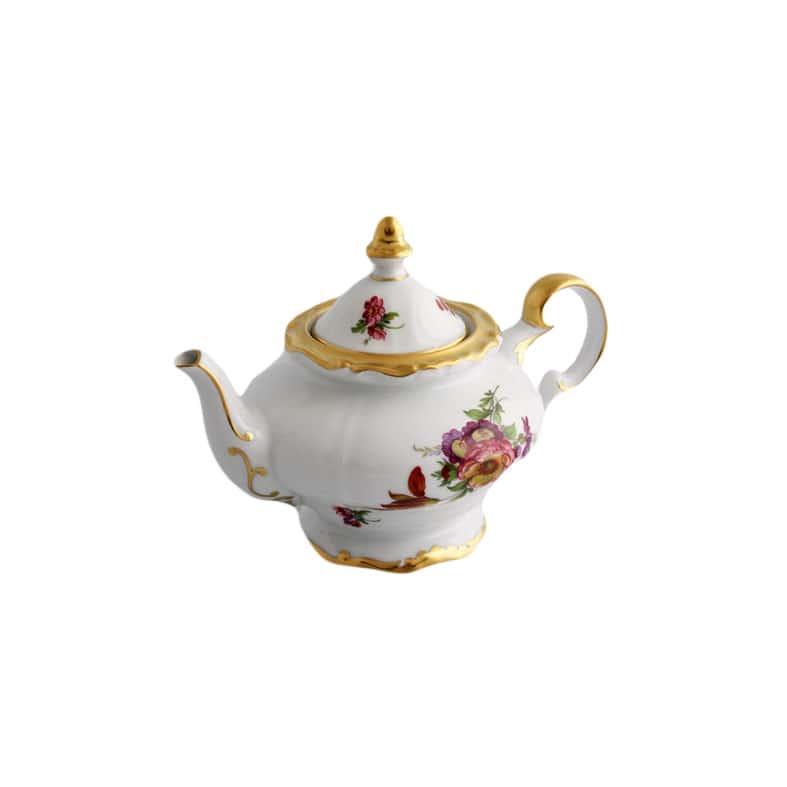 Чайник заварочный 0,60л. Мейсенский букет Weimar Porzellan