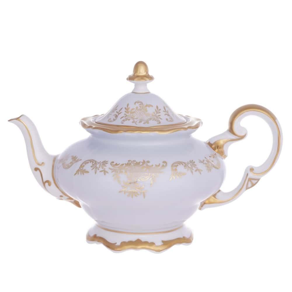Чайник 1,2л. Ювел голубой Weimar Porzellan