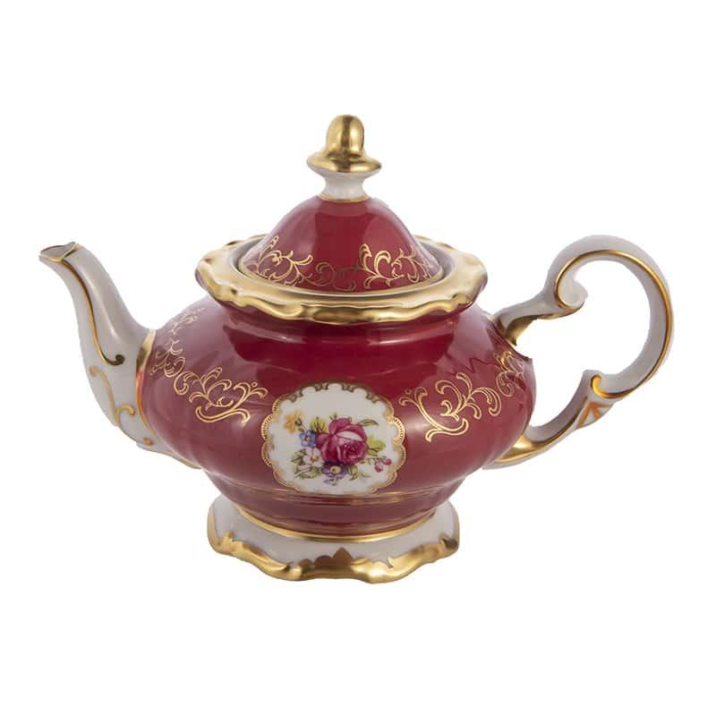 Чайник заварочный 0,60л. С.Петербург красный Weimar Porzellan