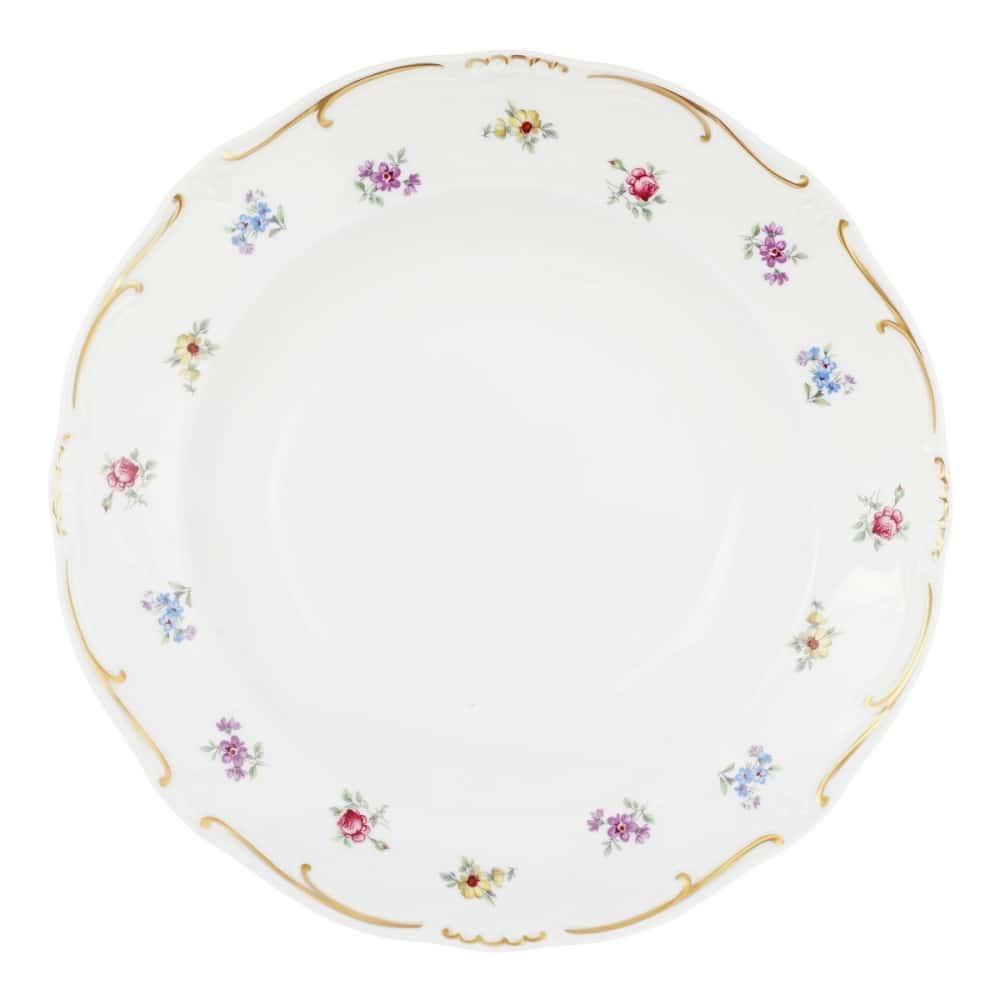 Тарелка глубокая 24см. Полевой цветок Weimar Porzellan