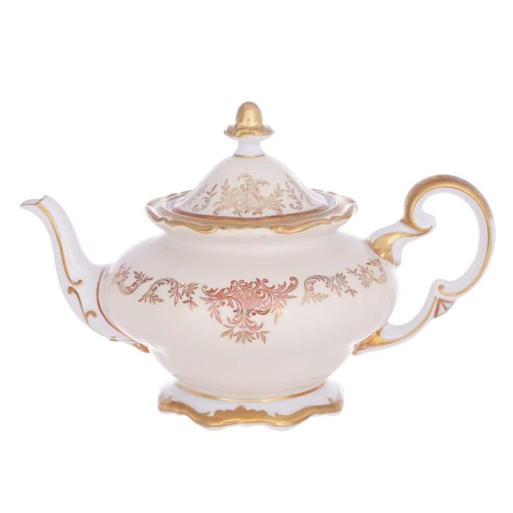 Чайник 1,2л. Ювел кремовый Weimar Porzellan