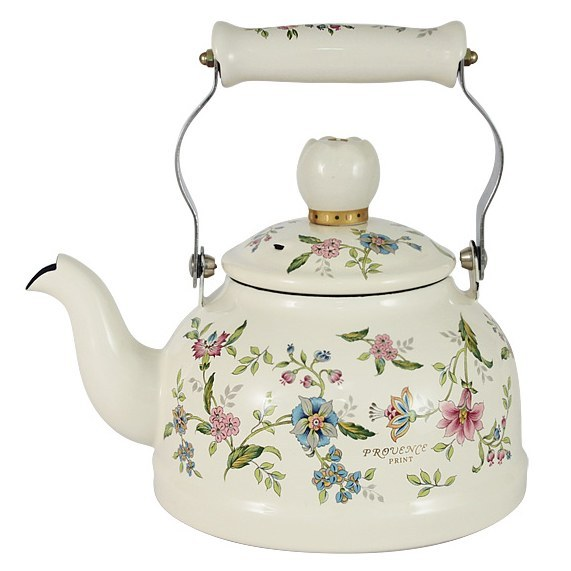 Чайник эмалированный 1,3л. Прованс Ejiry
