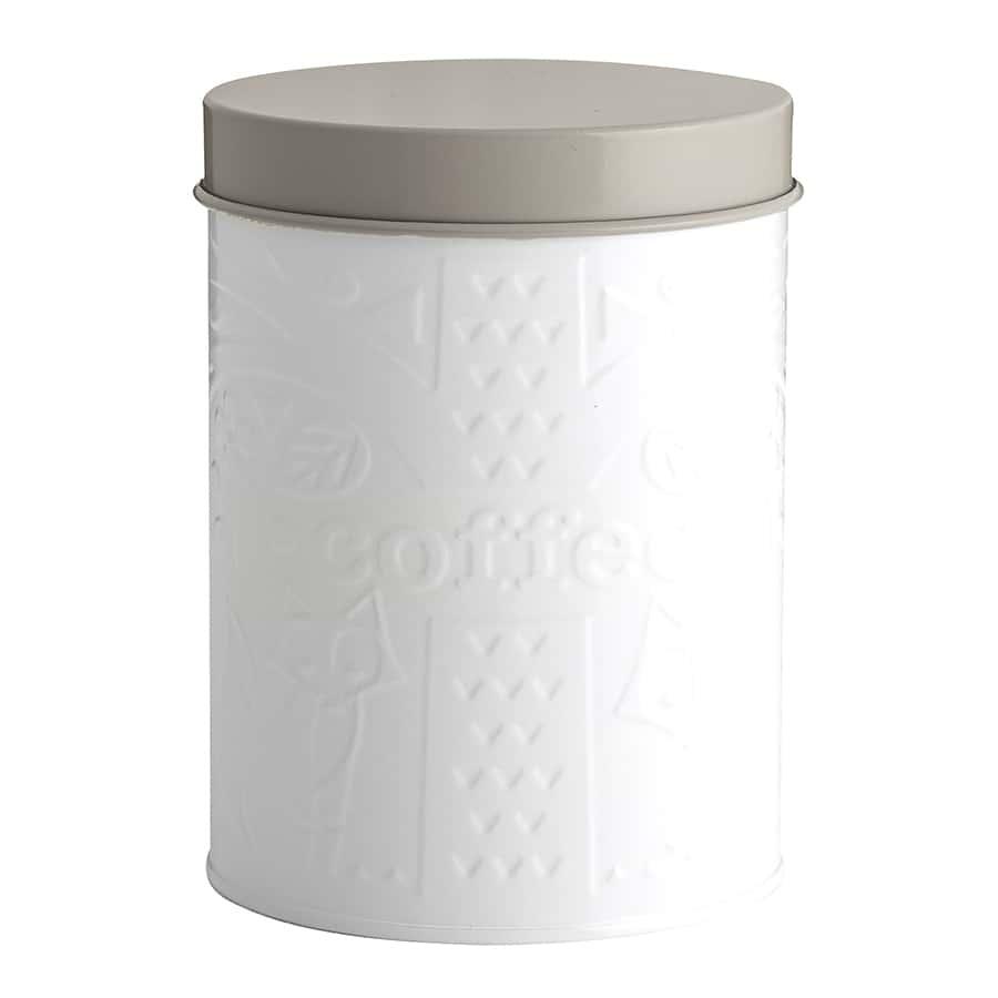 Емкость для хранения кофе In The Forest Mason Cash бело-серая