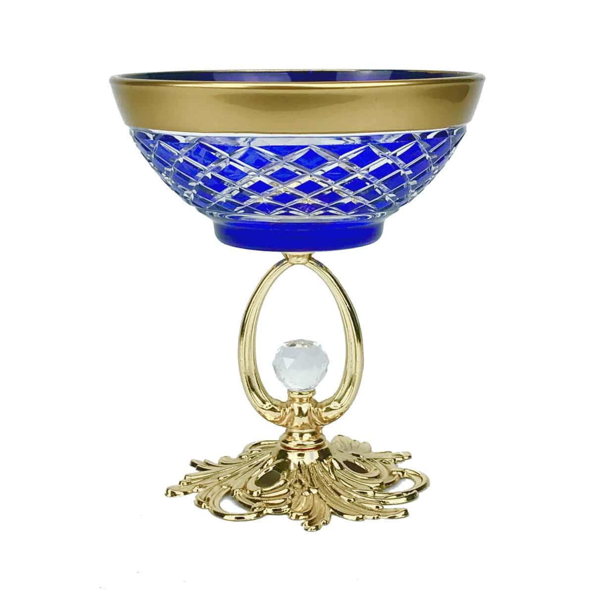 Креманка 15x12см Agua YH синяя