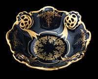 Сухарница (Барбарина) 31 см Ювел синий Weimar Porzellan