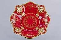 Барбарина Ювел красный 27 см Weimar Porzellan