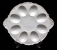 Бернадот белый 311011 Тарелка для яиц 27444