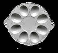 Бернадот Платина 2021 Тарелка для яиц фарфоровая 28866