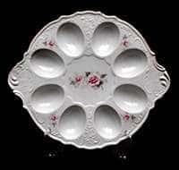 Роза серая Золото Тарелка для яиц Bernadotte