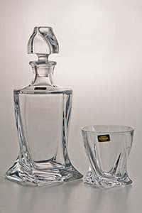 Набор для виски Квадро прозрачный на 6 персон 7 предметов 17266