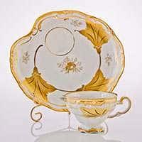 Кленовый лист белый Набор чайный Эгоист Weimar на 1 персону 2 предмета