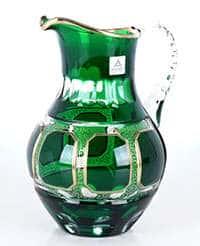 Графин 1,5 л Антик зеленый