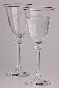 Набор фужеров для шампанского 185 мл 6 предметов Александра Платина
