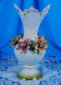 Ваза для цветов Цветы 20x20x34 см