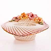 Ваза для конфет Цветы 34x32x17,5 см