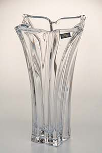 Флорал Ваза для цветов Crystalite Bohemia 28 cм 08963