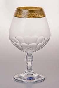 Набор бокалов для бренди 380 мл Виктория Bohemia