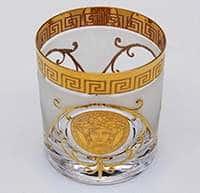Набор стаканов для виски Медуза фон 250 мл