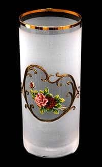 Роза Набор стаканов для воды Богемия  300 мл