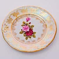 Роза Набор тарелок Carlsbad 19 см из фарфора