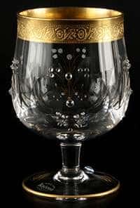Набор бокалов для бренди 250 мл Джесси стразы