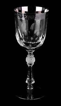 Набор бокалов для вина 250 мл Джесси платина