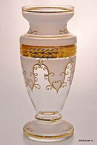 Ваза для цветов 30 см Версаче фон Potochka