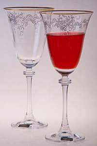 Набор бокалов для вина 250 мл Александра