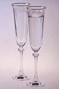 Набор бокалов для шампанского 190 мл Александра