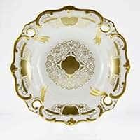Ваза для фруктов Илза 31 см Симфония Золотая Weimar