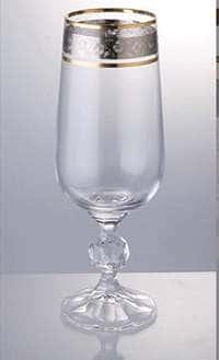 Клаудия 43249 Фужер для шампанского Crystalite 280 мл. 1 шт.