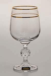 Набор бокалов для вина 230 мл Клаудия