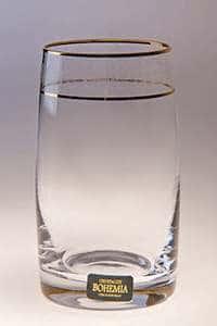 Клаудия Набор бокалов для воды Crystalite 250 мл