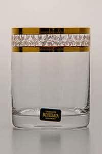 Лаура Набор стаканов для виски 320 мл Crystalite