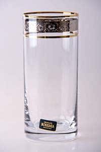 Лаура  Набор стаканов для воды Crystalite 350 мл