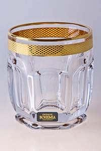 Набор стаканов для виски 250 мл Cафари Crystalite