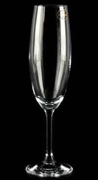 Набор фужеров для шампанского 220 мл Crystalite