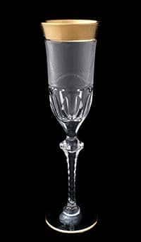 Набор фужеров для шампанского 225 мл Арнштадт Бибиголд