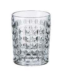 Набор стаканов для виски 230 мл Диамонд Crystalire