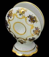 Венеция Роза голубая Салфетница Bavarian Porcelain