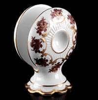Венеция Роза красная Салфетница Bavarian Porcelain