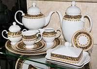Бельведер Сервиз чайный Weimar Porzellan на 6 персон 31 предмет
