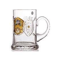 Бокал для пива Хрусталь с золотом 550 мл Acrystal