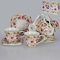 Пикколо роза Набор чайный Patricia 12 предметов 220 мл